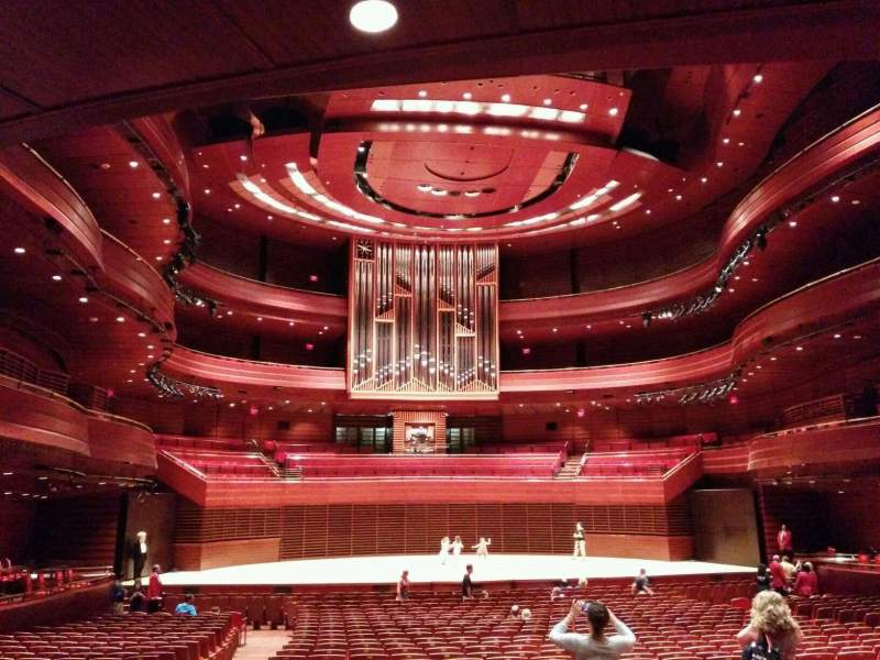 Seating view for Verizon Hall at the Kimmel Center Section Orchestra Tier Row G Seat 124