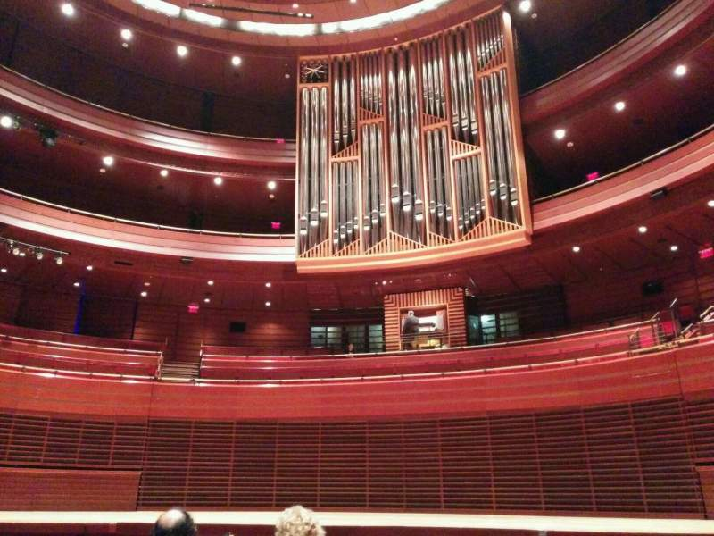 Seating view for Verizon Hall at the Kimmel Center Section Orchestra Row f Seat 101