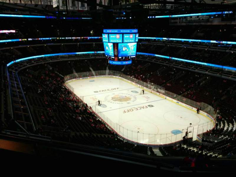 Seating view for United Center Section 228 Row 10 Seat 11