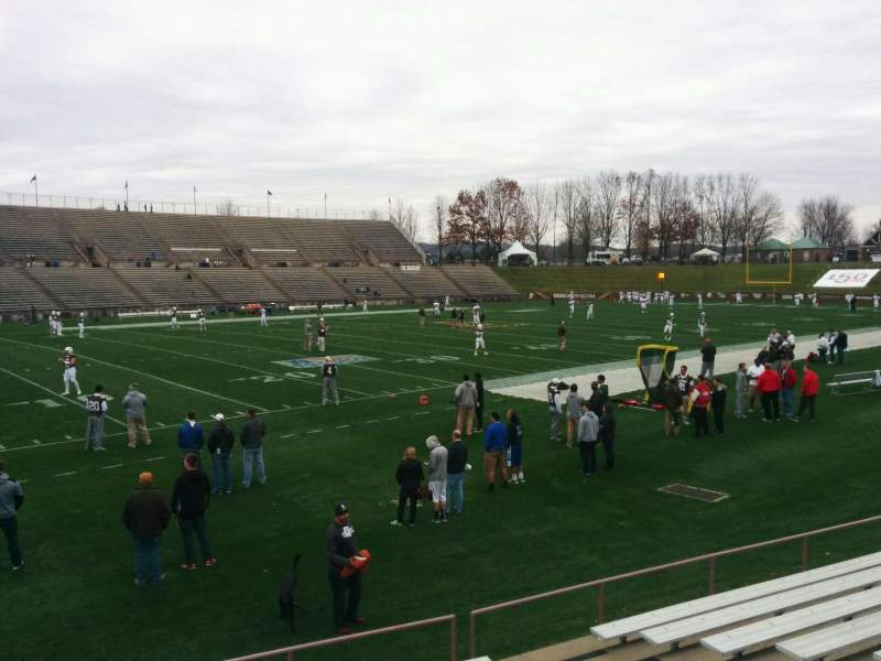 Seating view for Goodman Stadium Section wj Row 10 Seat 8
