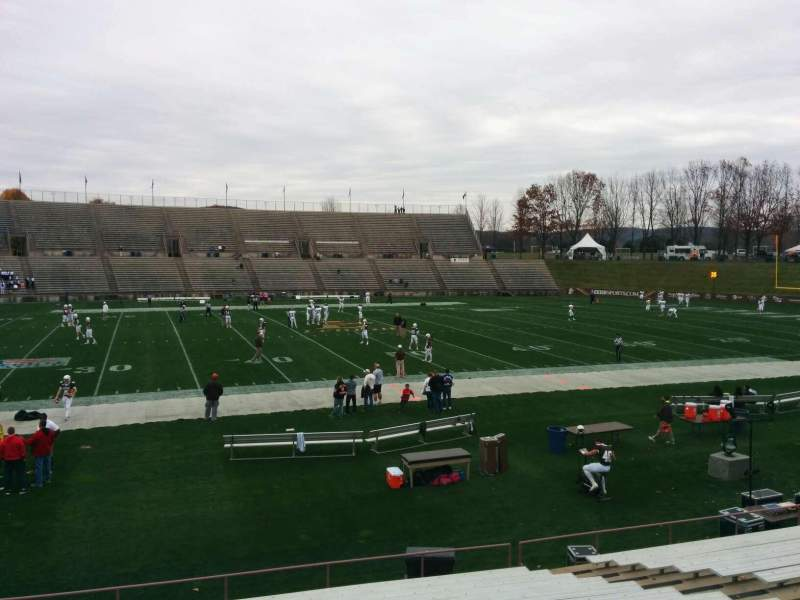 Seating view for Goodman Stadium Section wg Row 16 Seat 13
