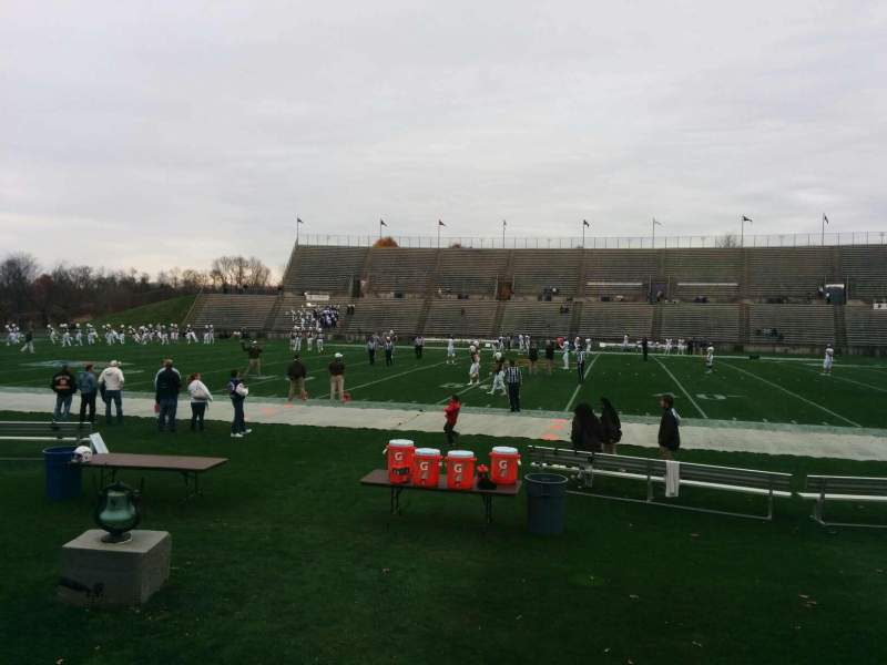 Seating view for Goodman Stadium Section we Row 4 Seat 9