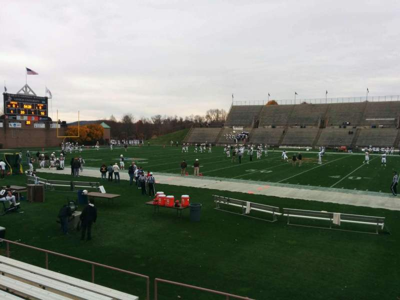 Seating view for Goodman Stadium Section wd Row 6 Seat 14