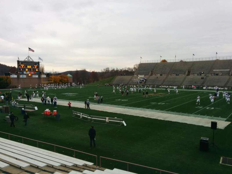 Seating view for Goodman Stadium Section wc Row 13 Seat 10