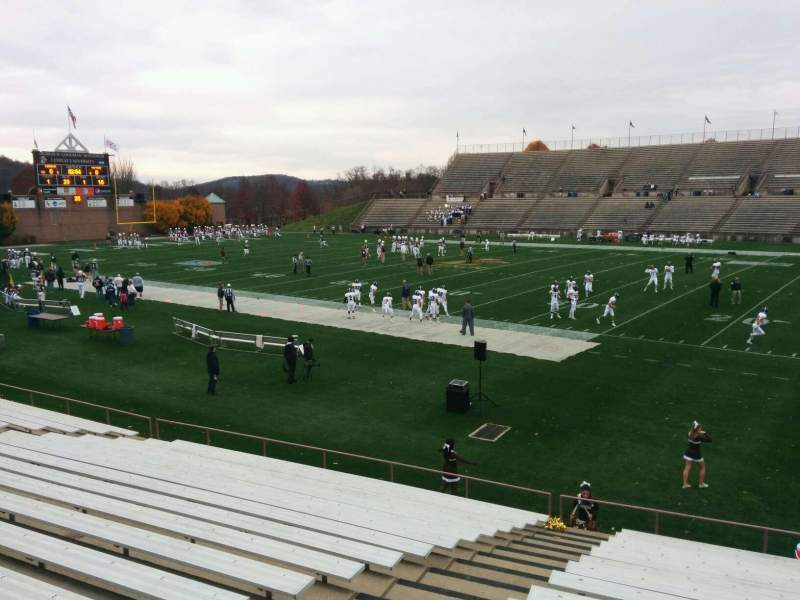 Seating view for Goodman Stadium Section wb Row 17 Seat 18