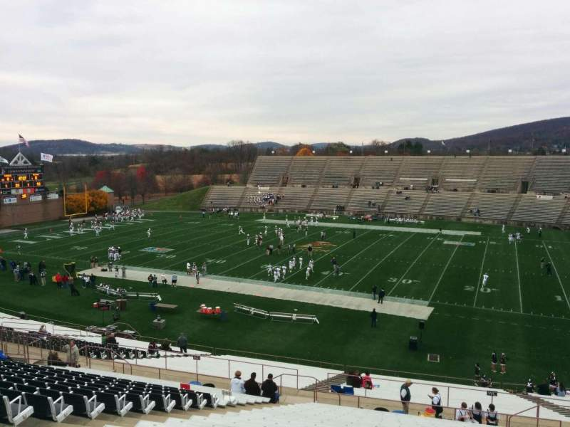 Seating view for Goodman Stadium Section wm Row 23 Seat 16