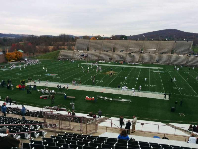 Seating view for Goodman Stadium Section wn Row 20 Seat 16