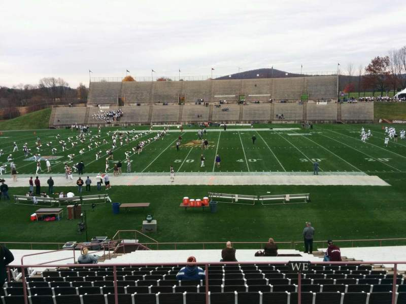 Seating view for Goodman Stadium Section wo Row 5 Seat 11