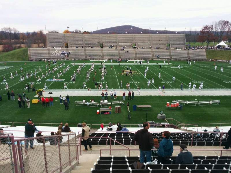Seating view for Goodman Stadium Section wp Row 11 Seat 17