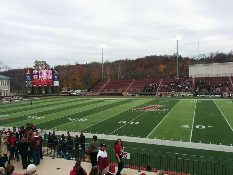 Seating view for Fisher Stadium Section 5 Row k Seat 6