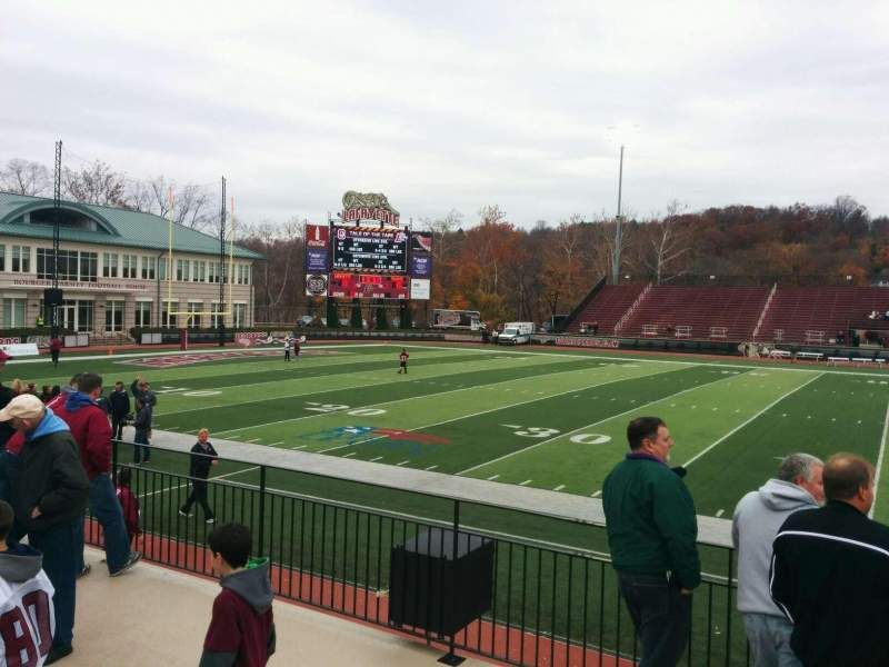 Seating view for Fisher Stadium Section 6 Row d Seat 17