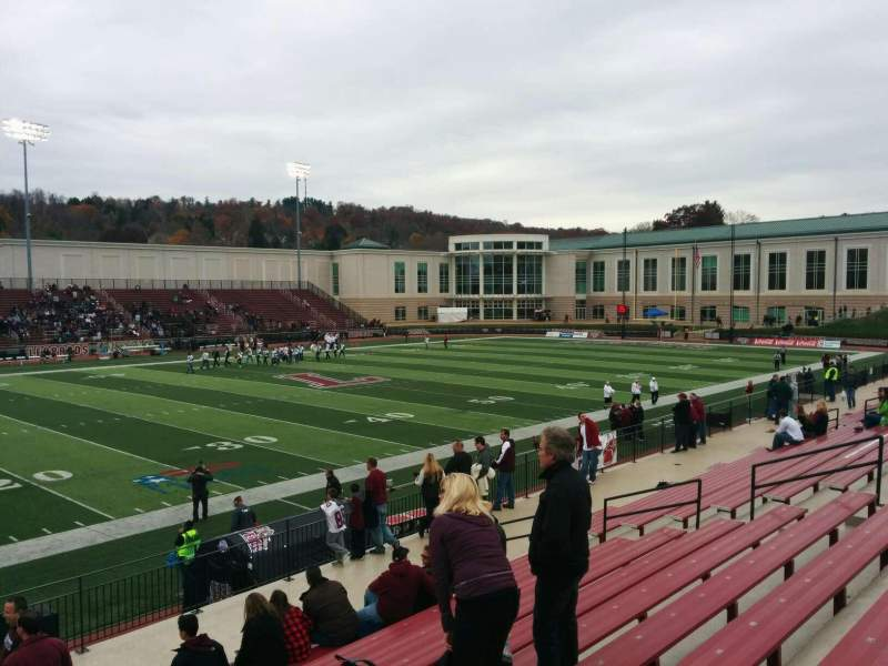 Seating view for Fisher Stadium Section 8 Row m Seat 21