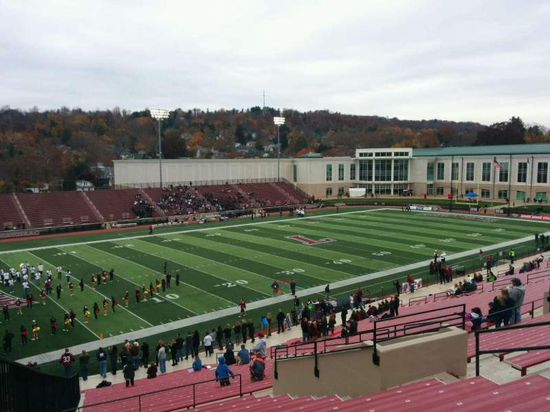 Fisher Stadium, section: 10, row: ll, seat: 11