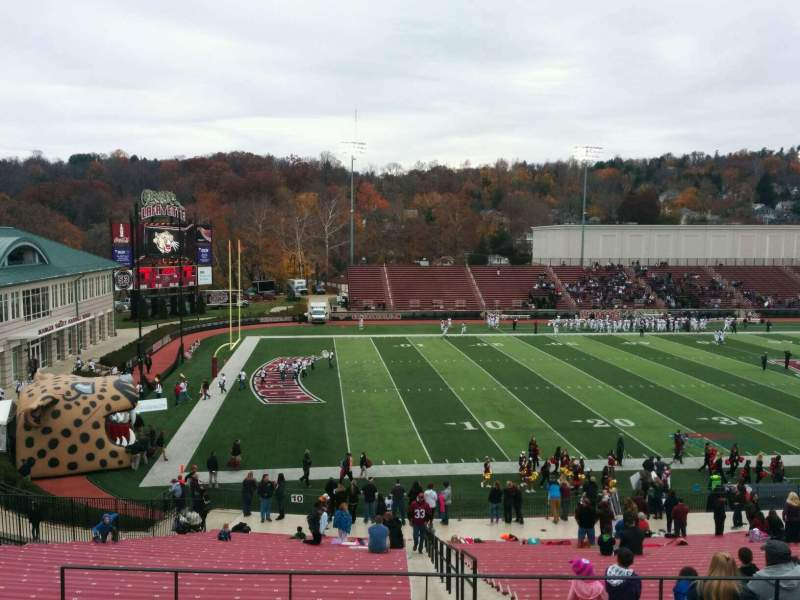 Seating view for Fisher Stadium Section 9 Row gg Seat 12