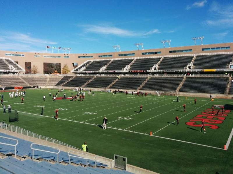 Seating view for Princeton Stadium Section 1 Row 18 Seat 6