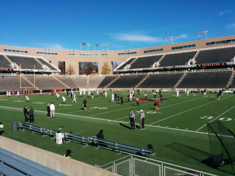 Seating view for Princeton Stadium Section 4 Row 7 Seat 11