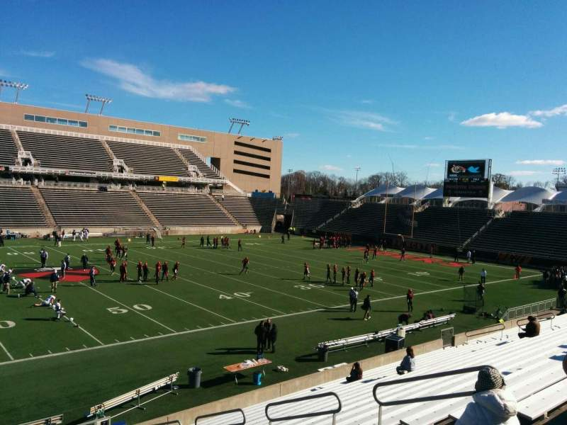 Seating view for Princeton Stadium Section 8 Row 20 Seat 11