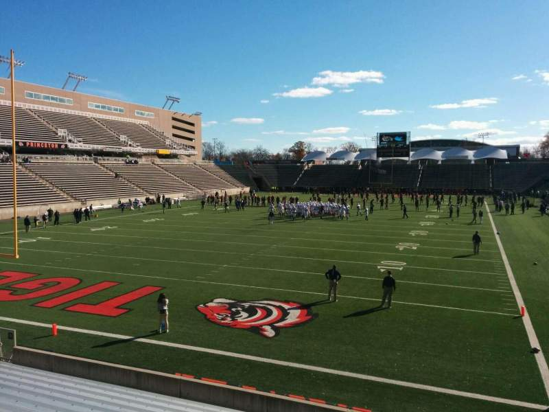 Seating view for Princeton Stadium Section 14 Row 14 Seat 8