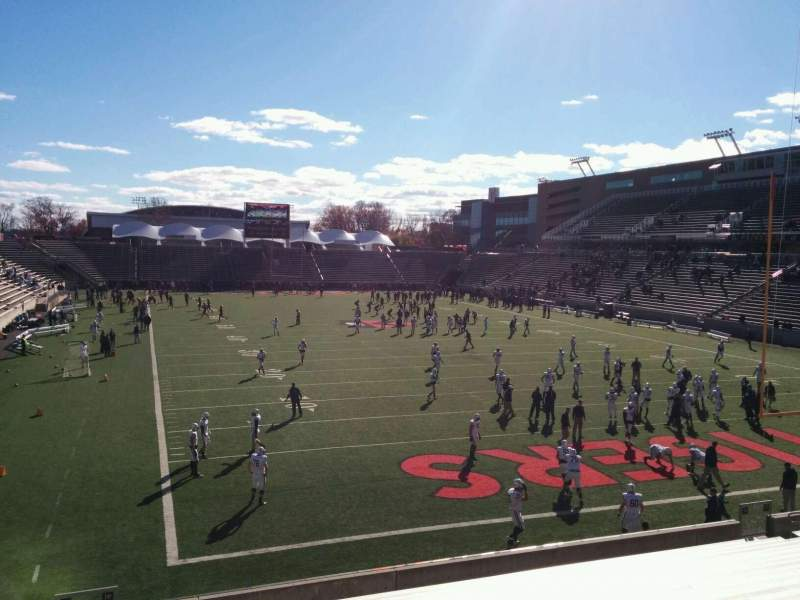 Seating view for Princeton Stadium Section 19 Row 20 Seat 18