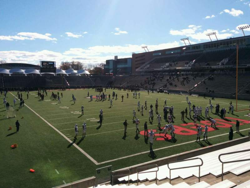 Seating view for Princeton Stadium Section 20 Row 17 Seat 12