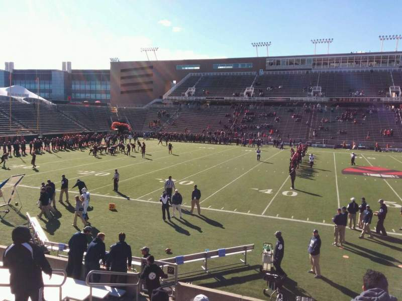 Seating view for Princeton Stadium Section 27 Row 12 Seat 12