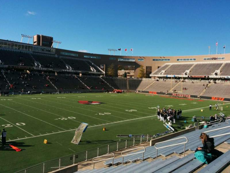 Seating view for Princeton Stadium Section 30 Row 16 Seat 19