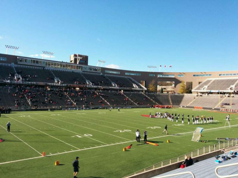 Seating view for Princeton Stadium Section 32 Row 15 Seat 11