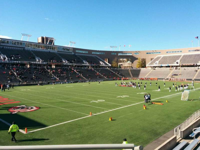 Seating view for Princeton Stadium Section 33 Row 13 Seat 19
