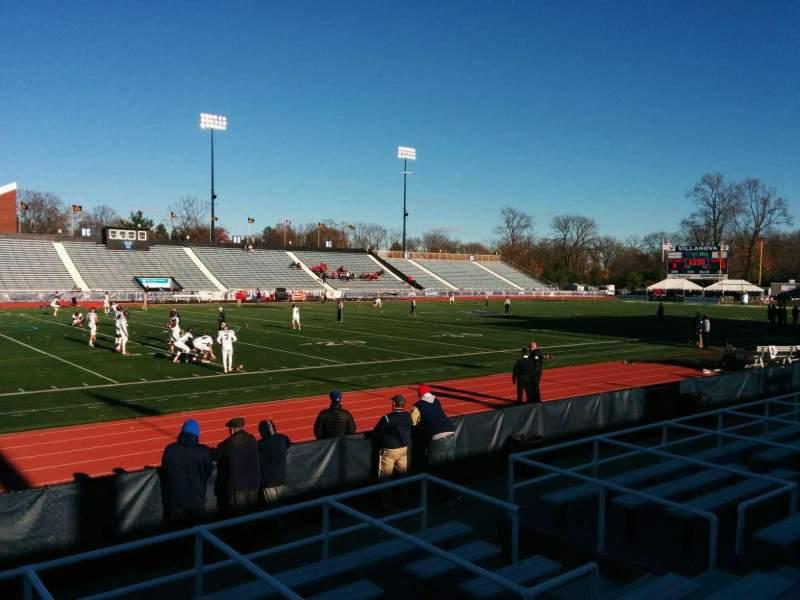Seating view for Villanova Stadium Section sa Row 9 Seat 12