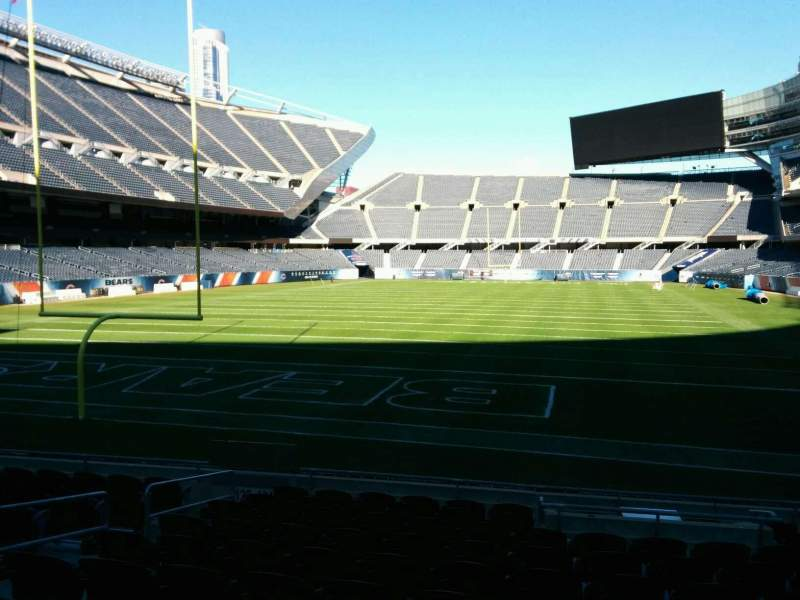 Seating view for Soldier Field Section 121 Row 11 Seat 7