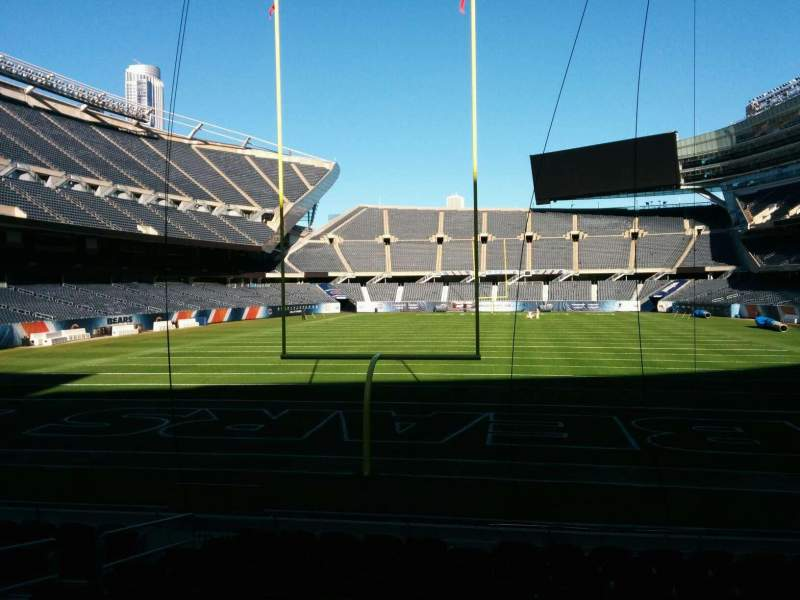Seating view for Soldier Field Section 122 Row 11 Seat 7