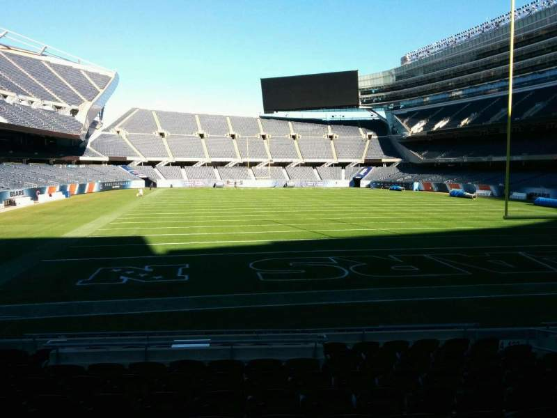 Seating view for Soldier Field Section 124 Row 11 Seat 9