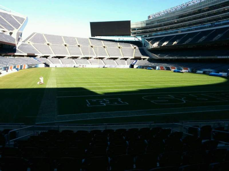 Seating view for Soldier Field Section 125 Row 11 Seat 6