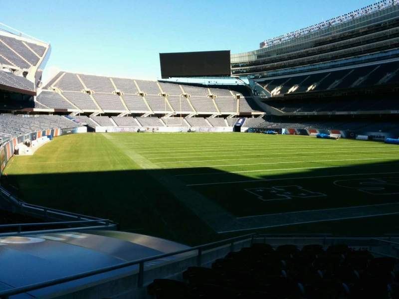 Seating view for Soldier Field Section 126 Row 12 Seat 17