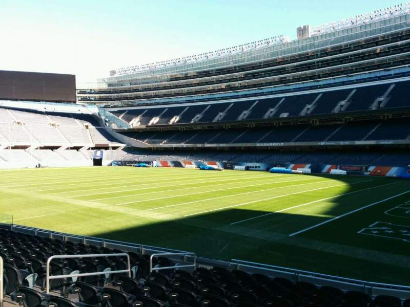 Seating view for Soldier Field Section 130 Row 11 Seat 8