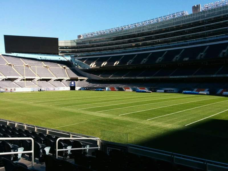 Seating view for Soldier Field Section 131 Row 8 Seat 8