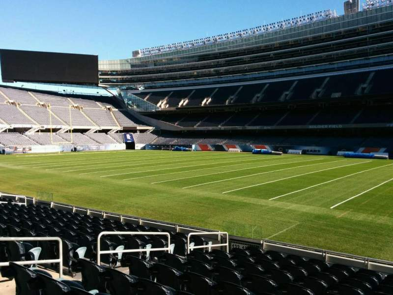 Seating view for Soldier Field Section 132 Row 11 Seat 8