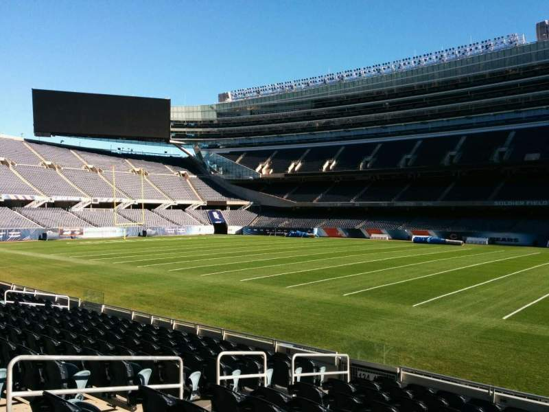 Seating view for Soldier Field Section 133 Row 11 Seat 8
