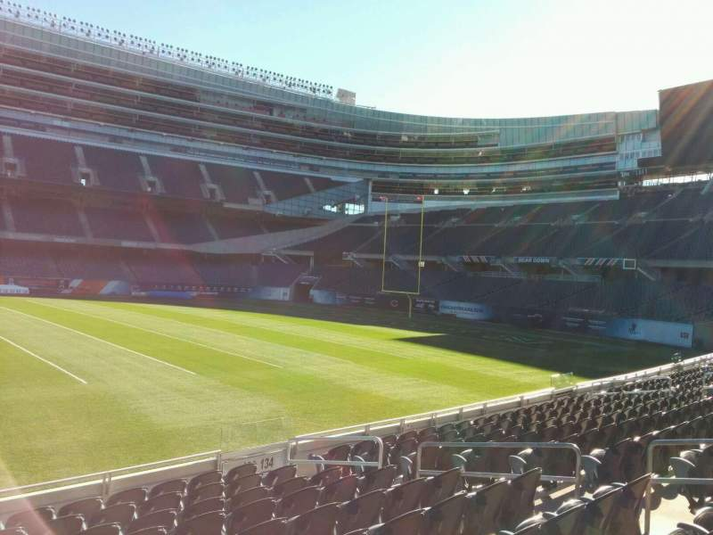 Seating view for Soldier Field Section 136 Row 10 Seat 10
