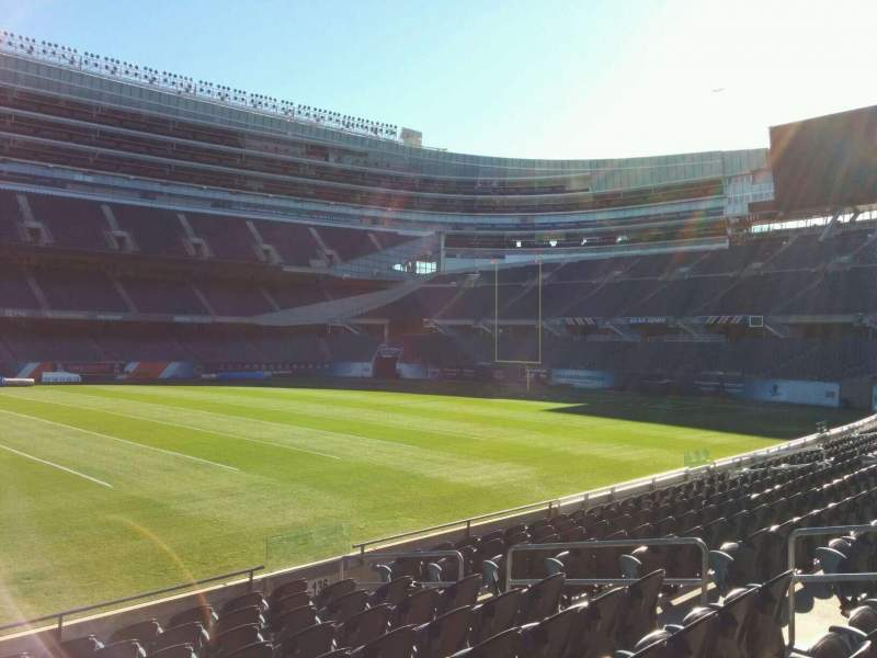 Seating view for Soldier Field Section 138 Row 10 Seat 10