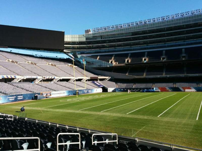 Seating view for Soldier Field Section 140 Row 10 Seat 8