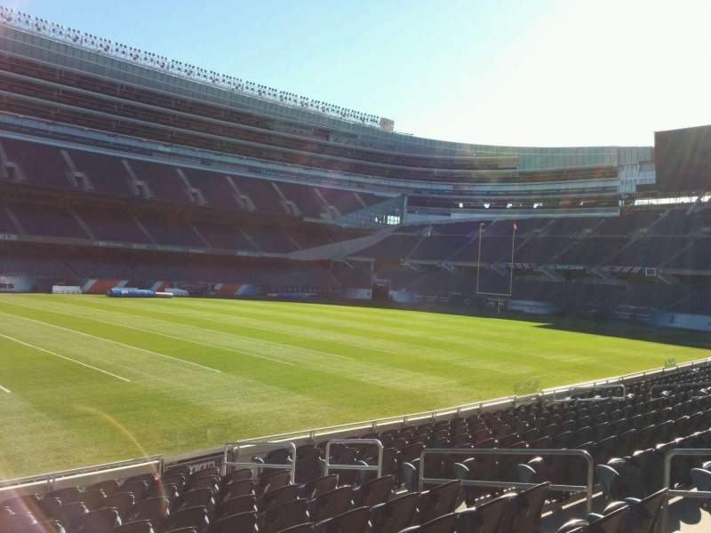 Seating view for Soldier Field Section 141 Row 12 Seat 9