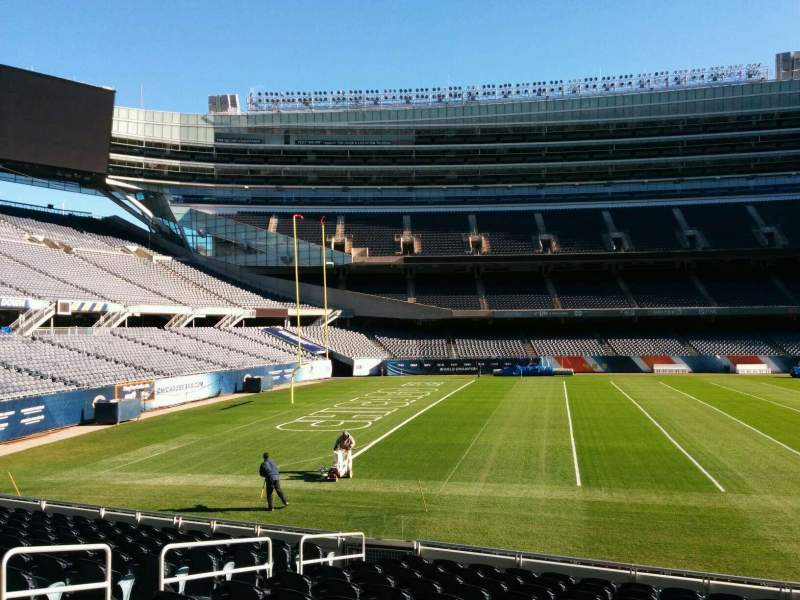 Seating view for Soldier Field Section 142 Row 13 Seat 8