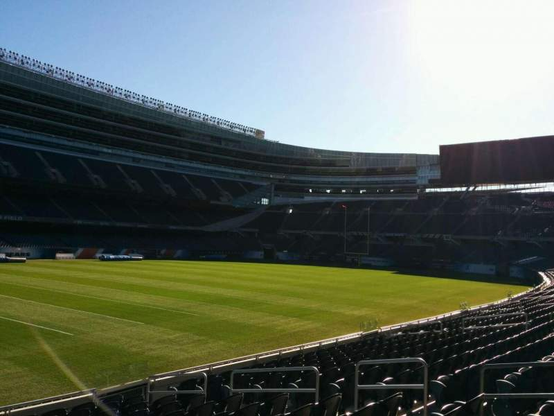 Seating view for Soldier Field Section 143 Row 12 Seat 8