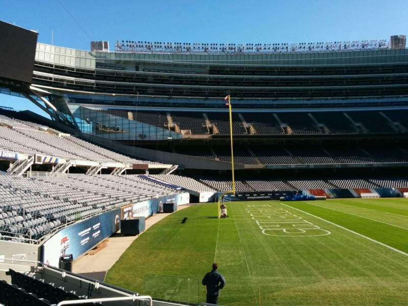 Seating view for Soldier Field Section 144 Row 8 Seat 8