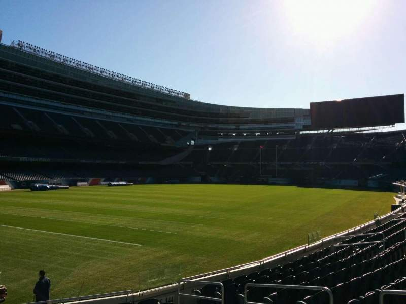 Seating view for Soldier Field Section 146 Row 11 Seat 16