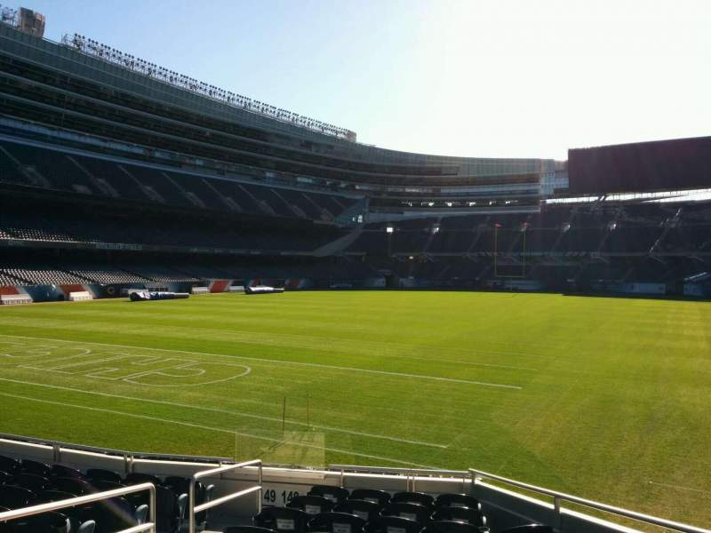 Seating view for Soldier Field Section 148 Row 10 Seat 4