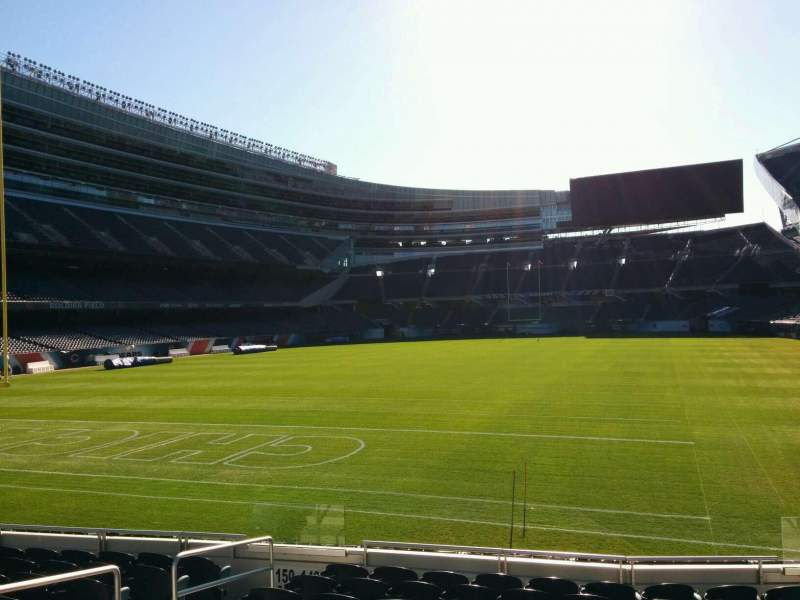 Seating view for Soldier Field Section 149 Row 10 Seat 6