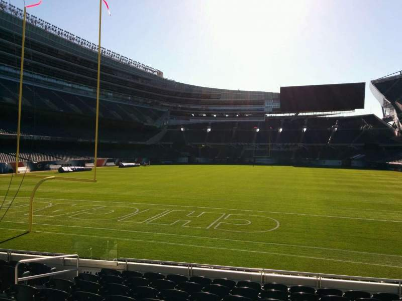 Seating view for Soldier Field Section 150 Row 10 Seat 8