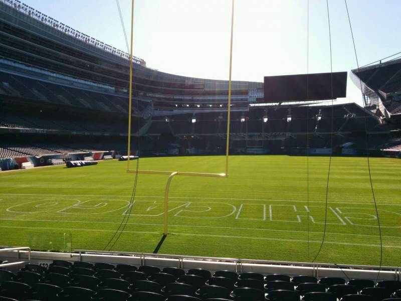 Seating view for Soldier Field Section 151 Row 10 Seat 8